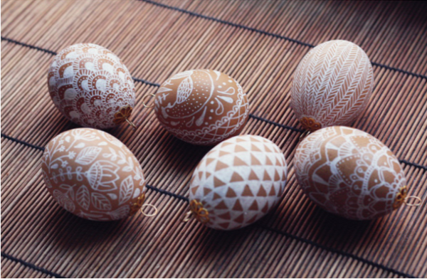 húsvét tojásfestés tojásdíszítés