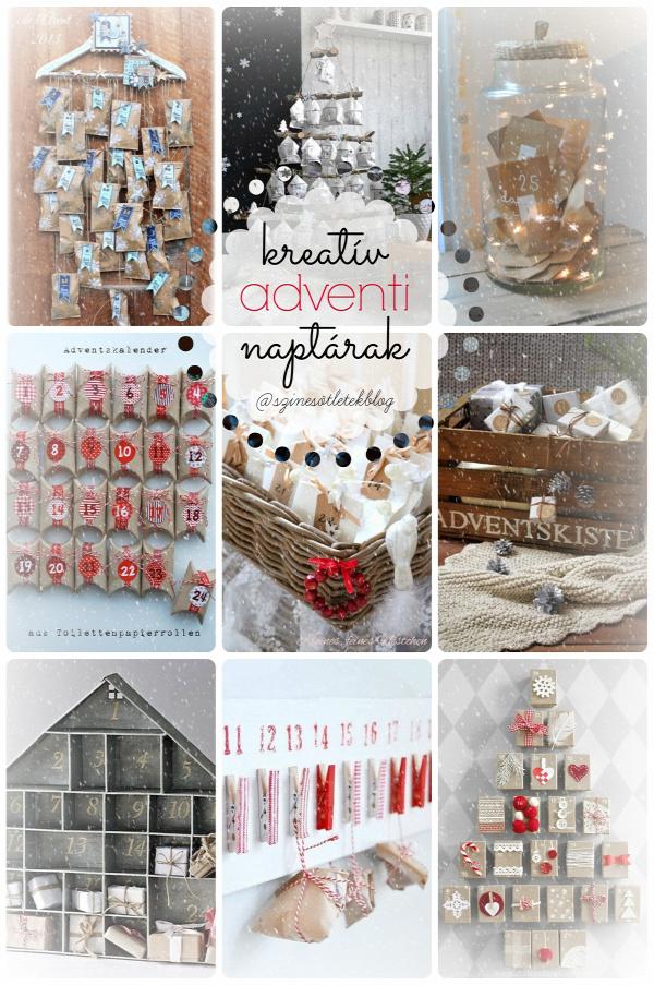 karácsony advent adventi naptár