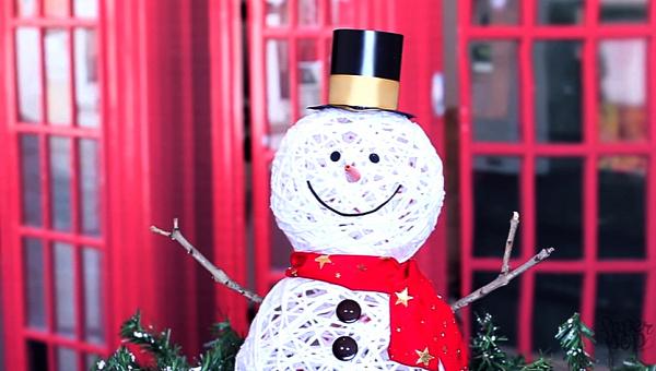 karácsony hóember