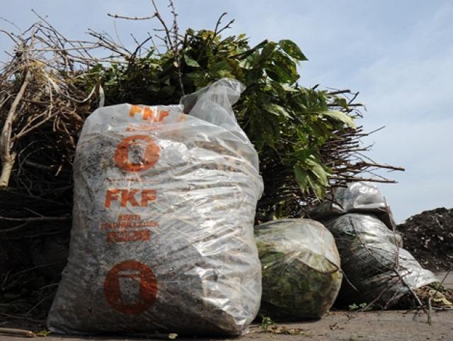 főkefe kerti zöldhulladék gyűjtőzsák változás 2016 komposztálás mulcs