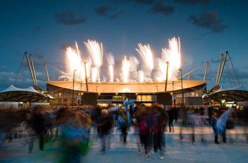 manchester city angol foci háttér videó