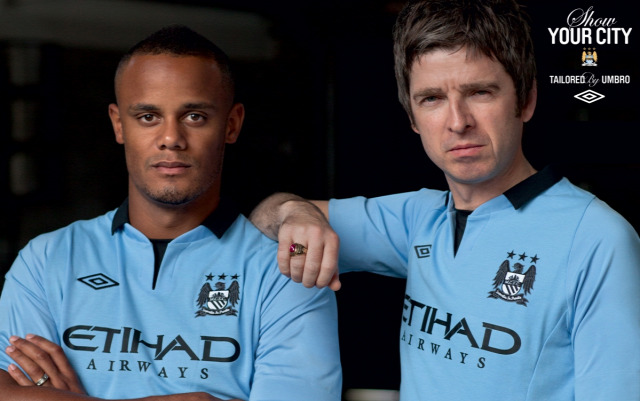manchester city umbro mez meztörténet liam gallagher noel gallagher