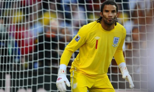 manchester city david james retrócity portré