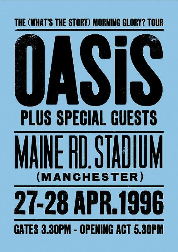 oasis maine road liam gallagher noel gallagher offtopik