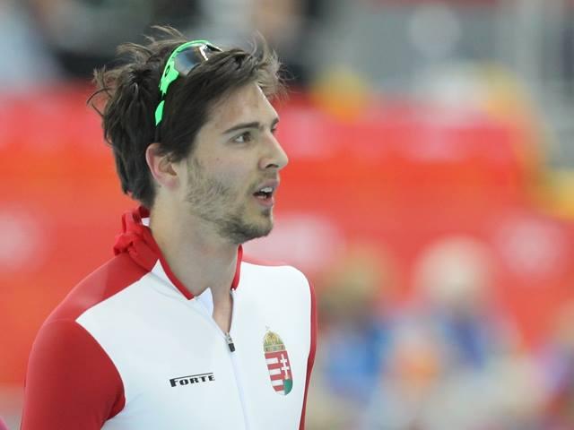gyorskorcsolya magyar sportolók Nagy Konrád