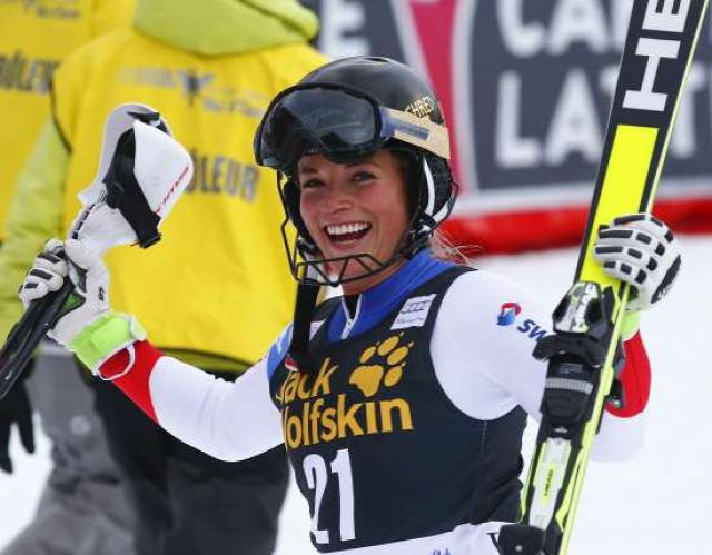 alpesi sí Alpesi Sí Világkupa szuper-kombináció Lara Gut Lindsey Vonn Michaela Kirchgasser Marusa Ferk Margot Bailet Ragnhild Mowinckel