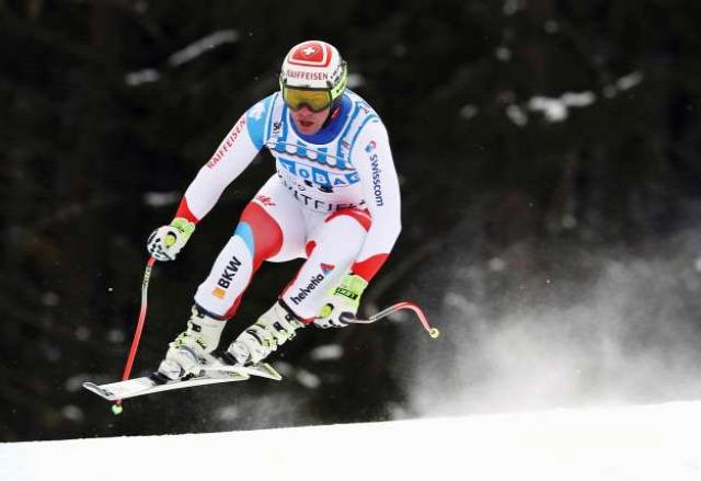 alpesi sí lesiklás Kvitfjell Norvégia Kjetil Jansrud Peter Fill Beat Feuz