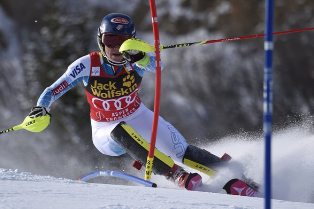 alpesi sí világkupa alpesi si Shiffrin Aspen szlalom