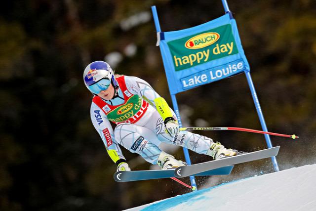alpesi si alpesi sí világkupa Lake Louise Szuper-G Vonn Miklos Edit