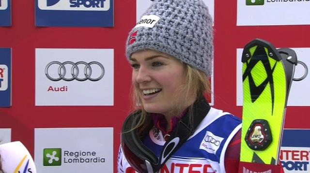 alpesi si alpesi sí világkupa Santa Caterina szlalom Nina Løseth