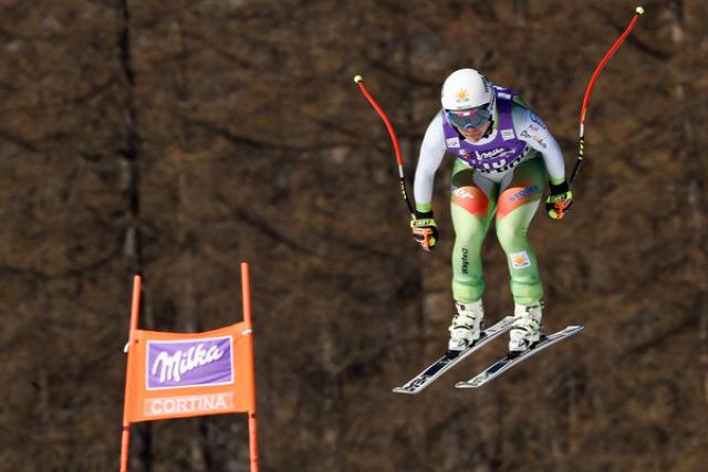 alpesi si alpesi sí világkupa lesiklas Cortina dAmpezzo Miklos Edit Vonn