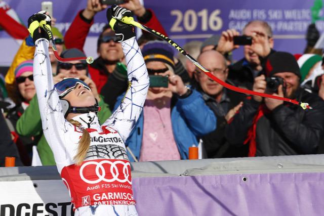 alpesi si alpesi sí világkupa Garmisch-Partenkirchen lesiklas Vonn Miklos Edit