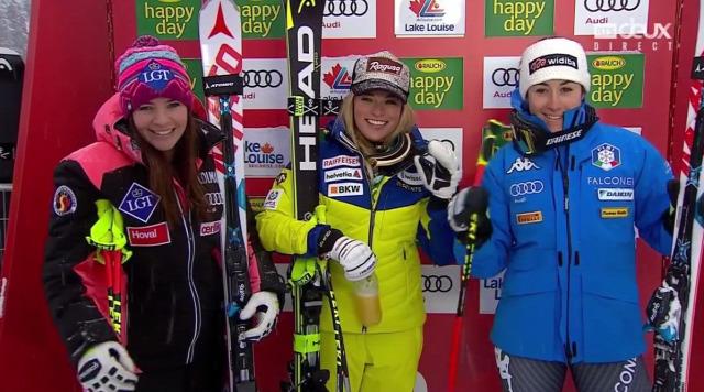 alpesi si alpesi sí világkupa 2016 Szuper-G Miklos Edit Lara Gut Weirather Goggia