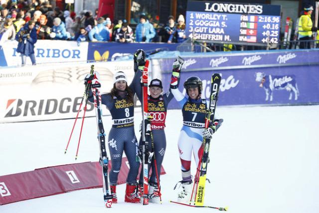 alpesi si alpesi sí világkupa Maribor óriás-műlesiklás Tessa Worley Tina Maze