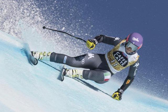 alpesi si alpesi sí világkupa 2016/2017 Crans Montana szuper-G Ilka Stuhec