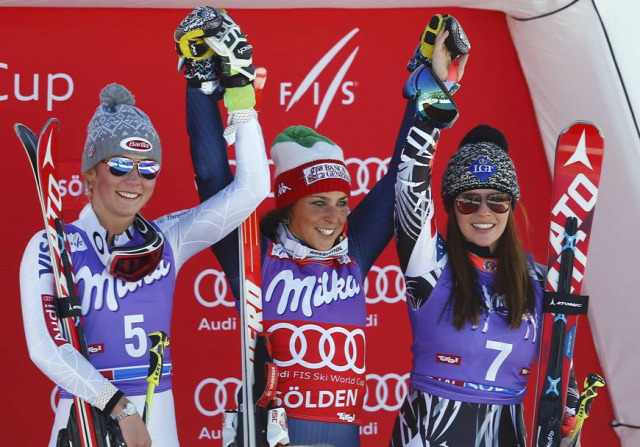 A nap pódiuma: Shiffrin, Brignone és Weirather