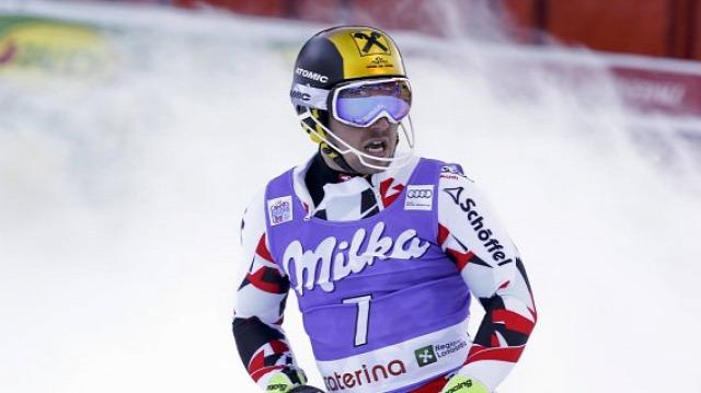 alpesi si alpesi sí világkupa szlalom Santa Caterina Hirscher