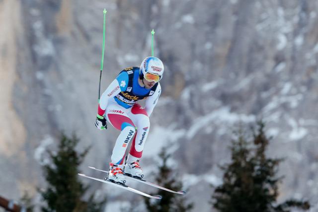 alpesi sí lesiklás Val Gardena Olaszország Max Franz