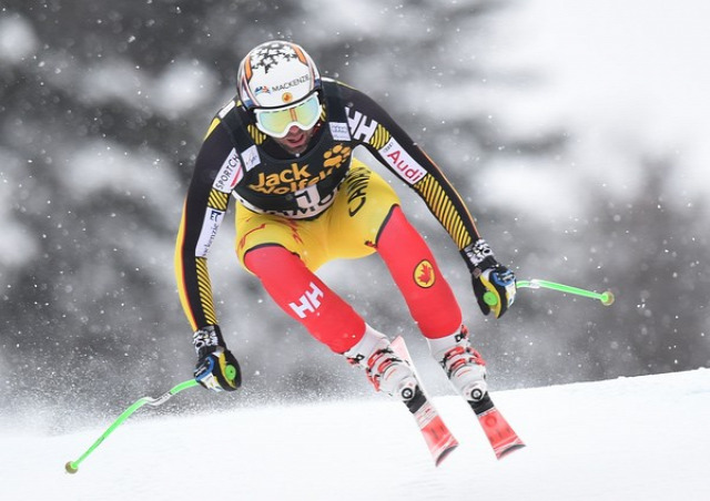 alpesi síelés lesiklás Chamonix Franciaország Dominik Paris Steven Nyman Beat Feuz Guillermo Fayed Peter Fill Adrien Théaux