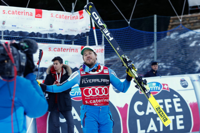 alpesi sí Szuper-G Santa Caterina Olaszország Kjetil Jansrud