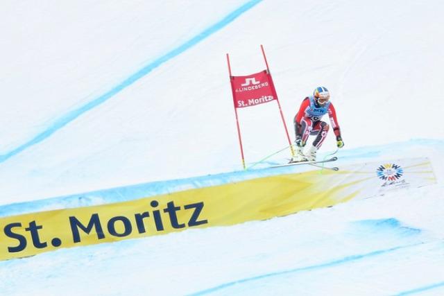 alpesi sí Alpesi Sí VB szuper-g Erik Guay Sankt Moritz Kjetil Jansrud Manuel Osborne-Paradis