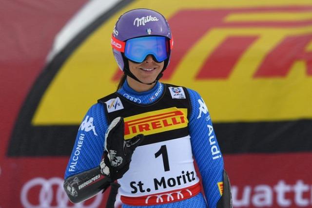 alpesi si alpesi sí világbajnokság St. Moritz Nicole Schmidhofer Szuper-G