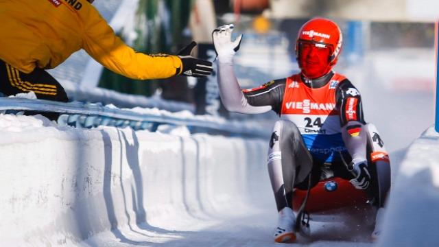 Szánkó Szánkó Világkupa Calgary Felix Loch Natalie Geisenberger Toni Eggert Sascha Benecken
