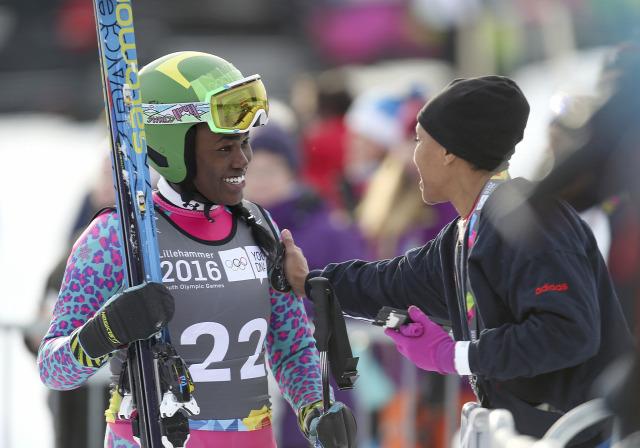 alpesi sí Ifjúsági Téli Olimpia magyar sportolók Archam Chiara Szőllős Barnabás