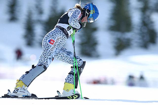 alpesi sí Squaw Valley USA szlalom Mikaela Shiffrin Sárka Strachová