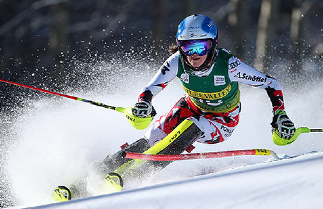 alpesi sí alpesi sí világkupa szlalom Mikaela Shiffrin Veronika Vélez Zuzulová Frida Hansdotter Sárka Strachová Maria Pietilä-Holmner Nastasia Noens