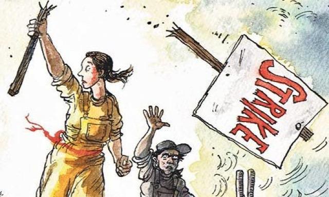 sztrájk sztrájkjog sztrájktörvény módosítás törvénymódosítás munkaügyi bíróság bíróság kúria MNB