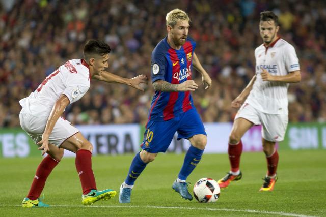 La Liga Barca Sevilla Sampaoli Nasri beharang bielsista