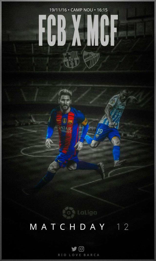 FC Barcelona Malaga La Liga nincsmegallas Sandro