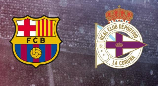 FC Barcelona Deportivo la Coruna beharang