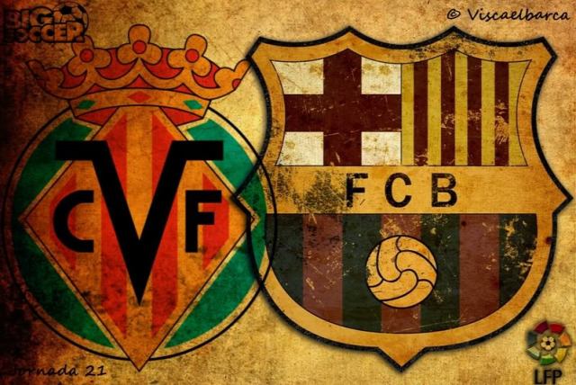Villarreal CF FC Barcelona beharang