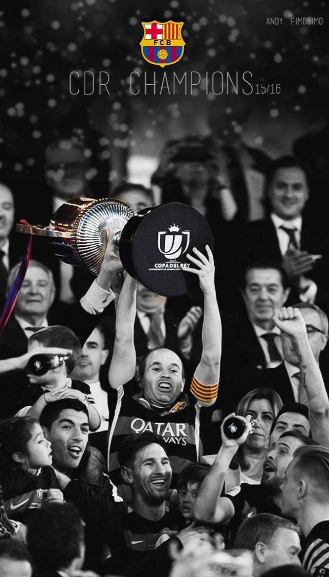 Copa del Rey döntő Iniesta orgazmus CAMPEONES