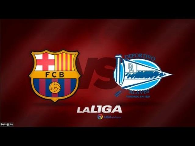 beharang 3. forduló FC Barcelona Alaves