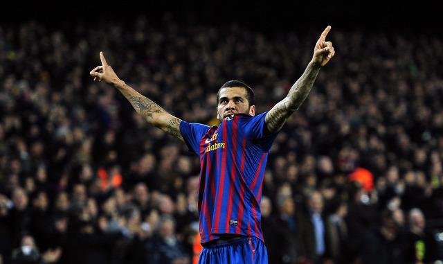 Dani Alves FC Barcelona