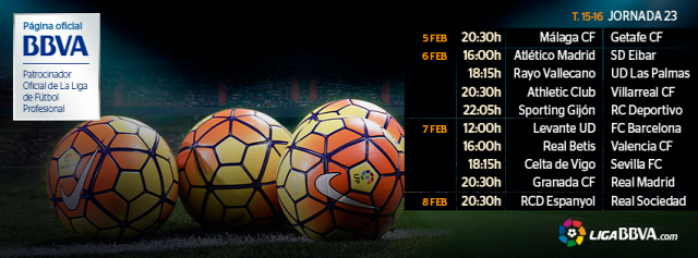 La Liga 23. forduló