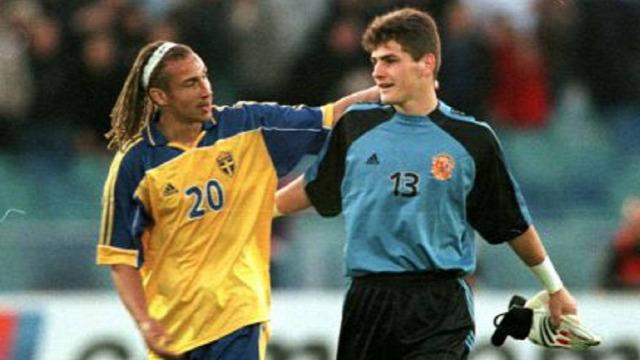 Iker Casillas válogatott La Roja debütálás minden más volt