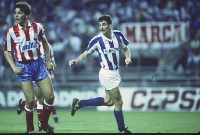 90-es évek John Aldridge Real Sociedad