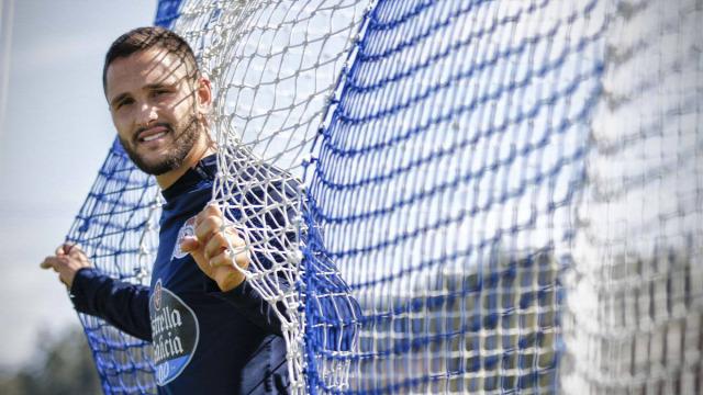 Florin Andone Deportivo csatár La Liga interjú