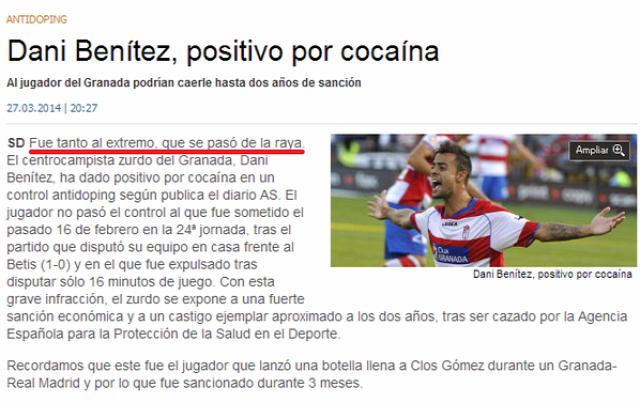 Granada José Angulo szerződésbontás blama kokain
