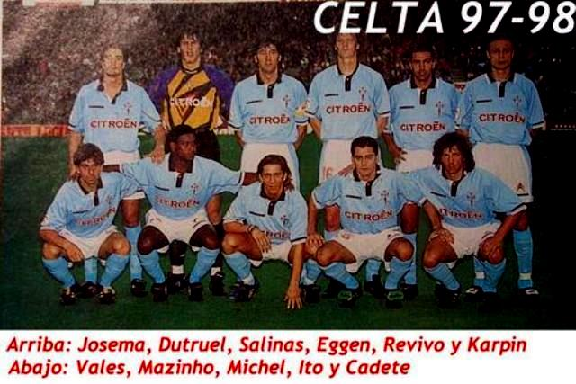 Haim Revivo Celta Vigo Azok a kilencvenes évek EuroCelta
