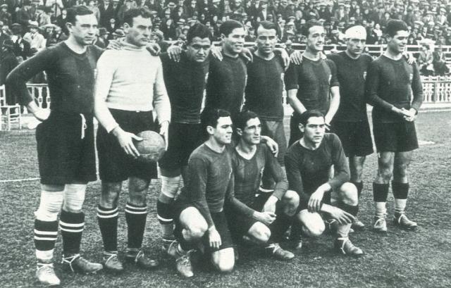 La Liga kezdetek időgép 1929