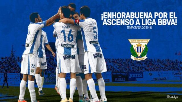 feljutó feljutás Club Deportivo Leganés La Liga