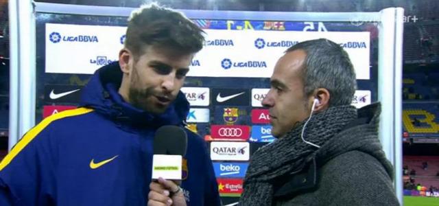 Piqué Barcelona Espanyol Király-kupa