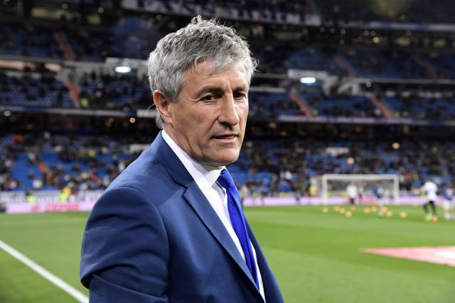 Quique Setién Las Palmas La Liga Gran Canaria tiki-taka derbi gallego