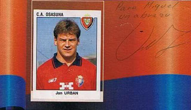 Osasuna lengyel Jan Urban Kosecki Staniek Ziober 90-es évek