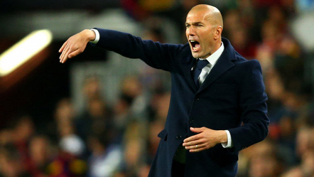 Real Madrid Barcelona el Clásico Zidane taktika